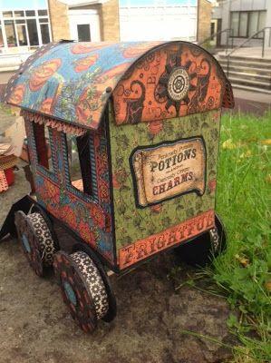 Arty-Forty: Madame Macabre's Gypsy Caravan