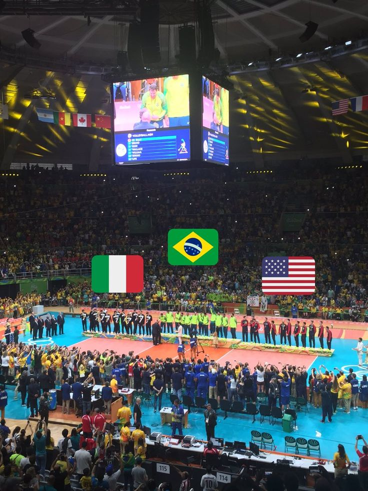 Olympic Volleyball is now over. Brazil walks away with the GOLD medal, Italy has SILVER, & USA has BRONZE!