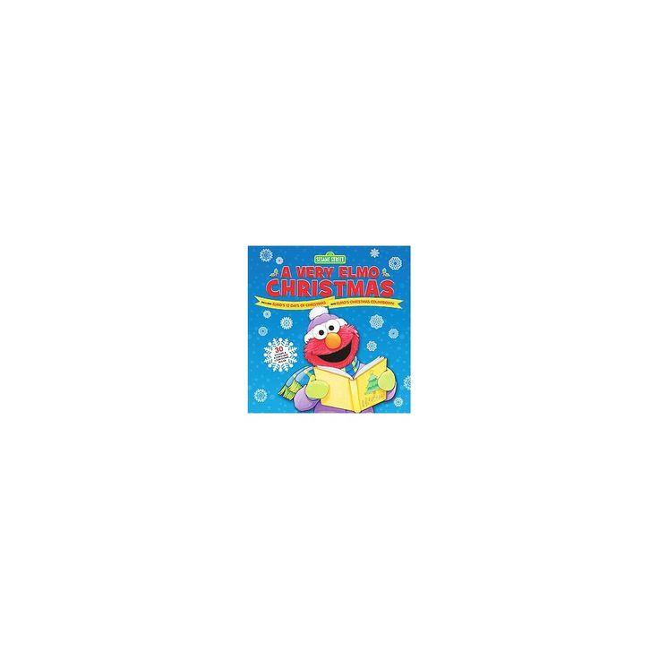 Very Elmo Christmas : Includes Elmo's 12 Days of Christmas and Elmo's Christmas Countdown (Hardcover)
