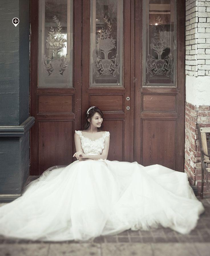 korean wedding photo
