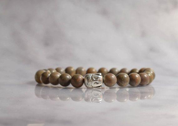 Bekijk dit items in mijn Etsy shop https://www.etsy.com/nl/listing/574168251/buddha-armband-mannen-armband-half