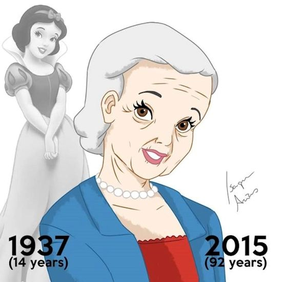 If Disney Princesses Aged With Their Movies, This Is What They'd Look Like