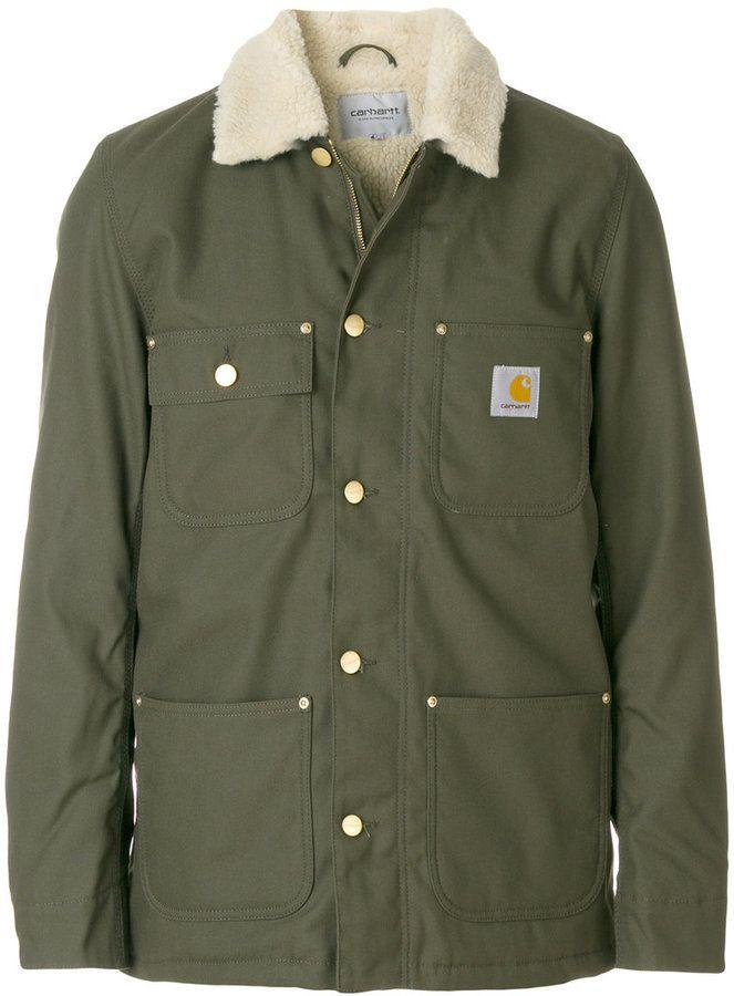 Carhartt cargo work jacket