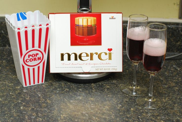 Enjoying the Oscars with Merci Chocolates