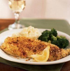 herb crusted trout recipe