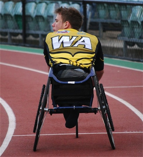 Wheelchair sports - at the track