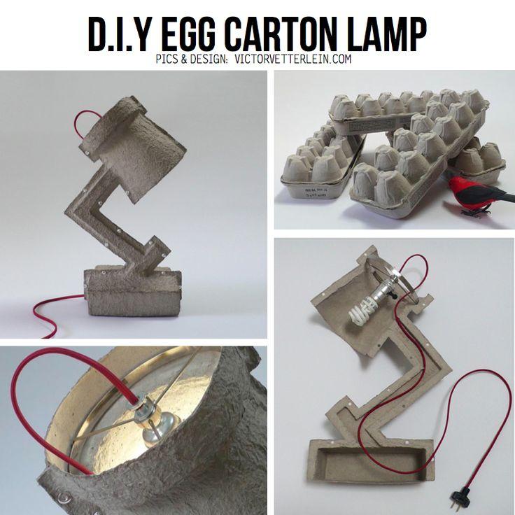 Tutorial de como hacer una lampara de cascaron de huevo!!