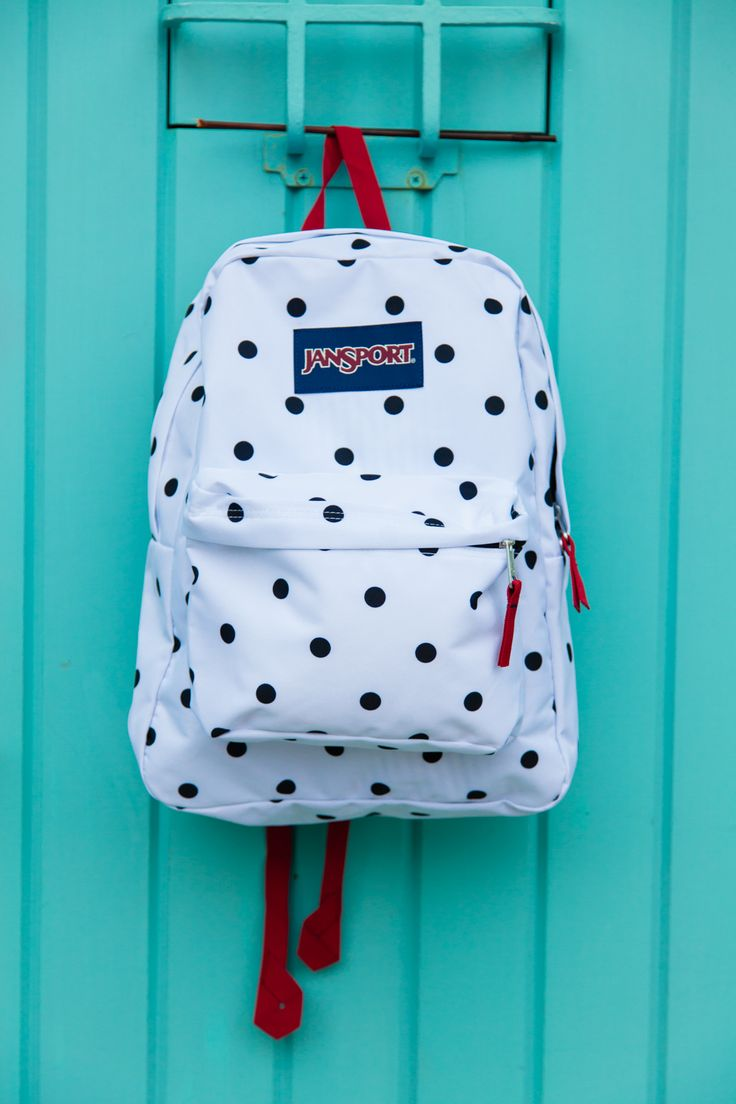 JanSport Polka Dot SuperBreak Backpack