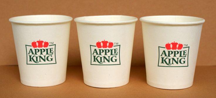 papierowe kubki do kawy / tampo druk - 2 kolory / karolla.com