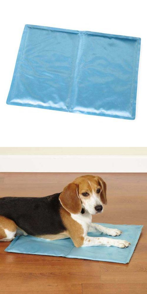 Slumber Pet Cool Pup Pet Mat, 20-Inch, Light Blue - The Slumber Pet Cool Pup Mats provide pets with a cool spot to lay on hot days. Innovative cooling mat keeps pets cool during the dog days of summer. Pop the entire mat into the fridge for quick cooli... - Bed Mats - Pet Supplies - $15.90