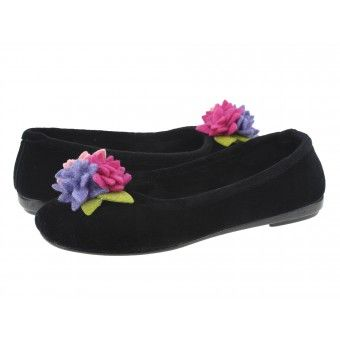 Papuci casa dama Gordac Gioseppo negro #homeshoes #cozy #Shoes