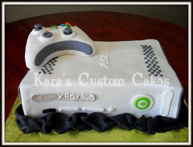 xbox cakes | xbox 360 birthday cake | Flickr - Photo Sharing!