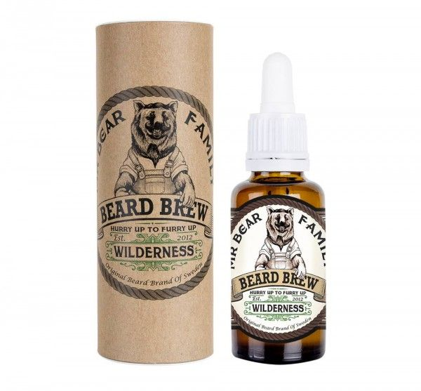 MR BEAR FAMILY Beard Brew olio da barba wilderness 30ml