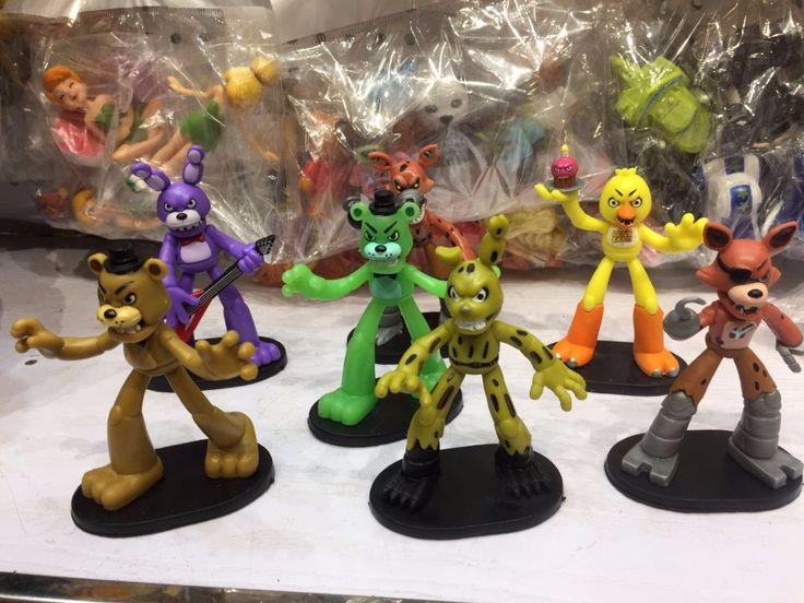 Cheap figure toy, Buy Quality freddy toys directly from China action figure toys Suppliers:  New 7pcs/set Five Nights At Freddy's Action Figure Toys FNAF Chica Bonnie Foxy Freddy Fazbear Bear Anime Figures Freddy Toys