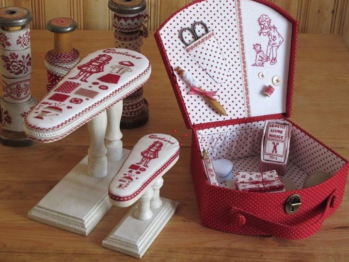 ❤✄◡ً✄❤ Cartonnage ❤✄◡ً✄❤  malette jeannette