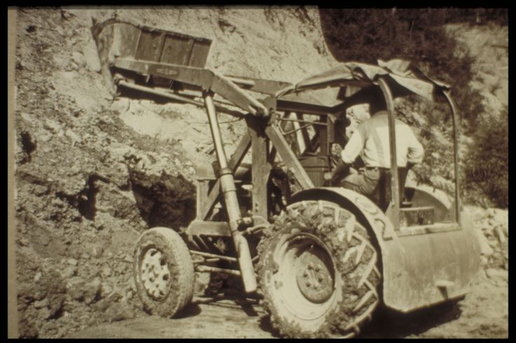 man at work in the quarry