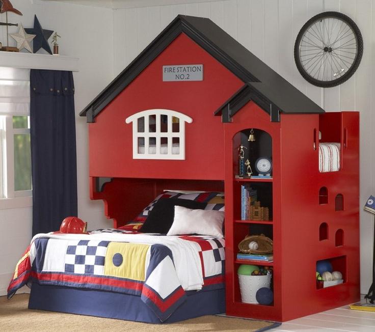Boys Bunk Beds Room Ideas