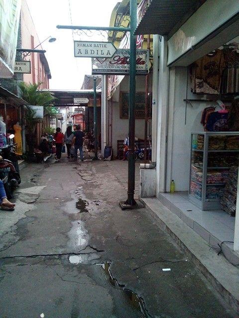 "Kampung Batik Kauman, ""Solo"""