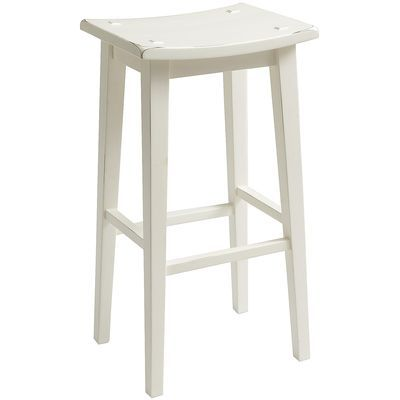 Lawson Backless Barstool - White  pier 1 $90