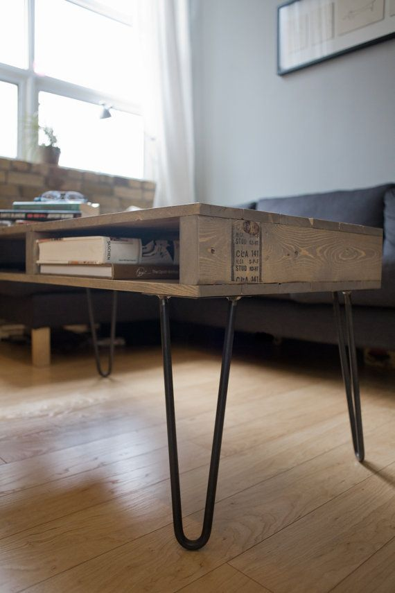 Reclaimed Pallet Wood Coffee Table / TV Stand by Sonofawoodcutter, $300.00