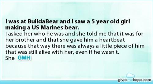 Awww <3: Us Marines, Quotes, Marines Bear, Marine Mom, I 3Mymarine