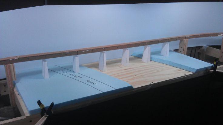 CSX Dixie Line in N Scale: Building the Etowah River Bridge: Part 1  Thats gonna be one long N-scale bridge