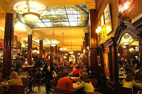 Cafe Tortoni -oldest cafe in Buenos Aires