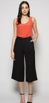 We think this Wide Leg Drapey Crop from Max for $99.99 is perfect for Summer evenings