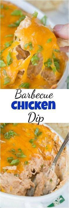 Barbecue Chicken Dip Barbecue Chicken Dip - get ready for game...  Barbecue Chicken Dip Barbecue Chicken Dip - get ready for game day and cover all your tailgating needs with this easy cheesy dip! Recipe : http://ift.tt/1hGiZgA And @ItsNutella  http://ift.tt/2v8iUYW