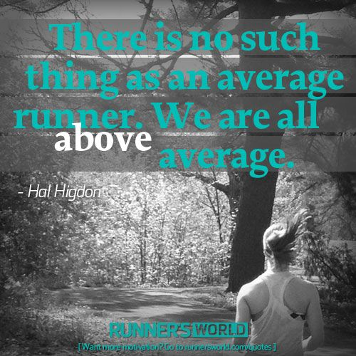No Such Thing As An Average Runner | Runner's World