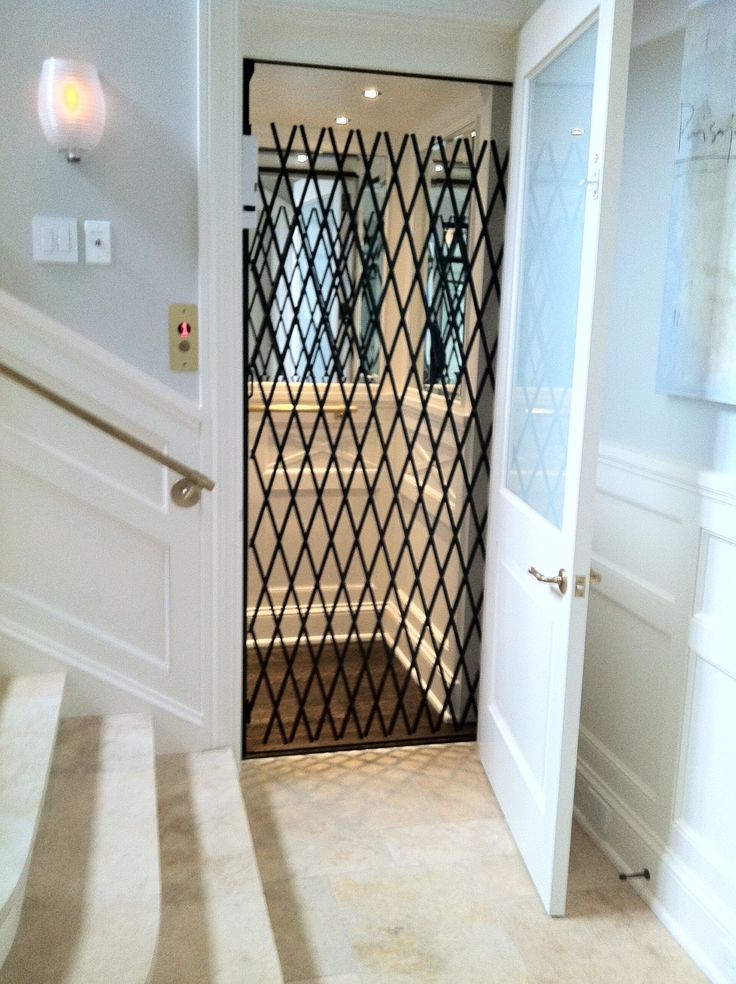 Homelift Inc Residential Elevator With Scissor Gate