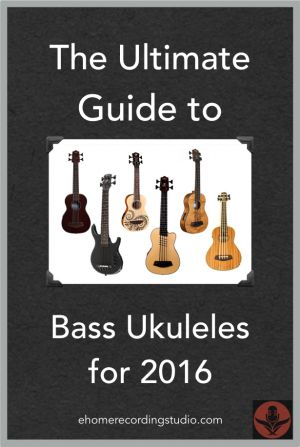 The Ultimate Guide to Bass Ukuleles for 2016 http://ehomerecordingstudio.com/bass-ukulele/