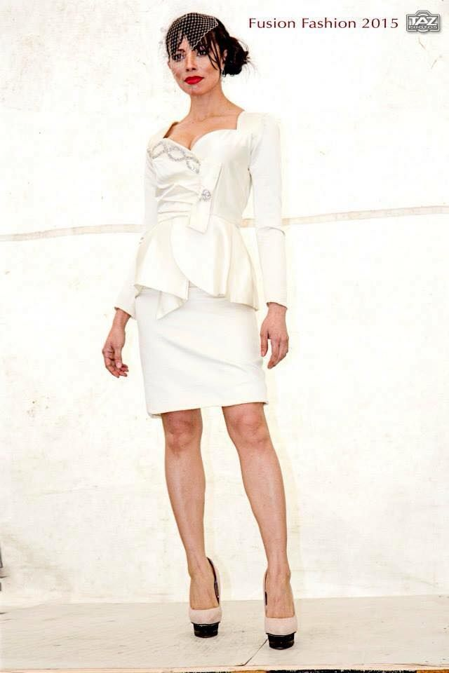 Our Lady Di Ivory Satin Dress with Hand beaded swaroski crystals can be purchased for €300 , buy it online on www.facebook.com/katleenamazonasfashion  *Can be adjusted to sizes 6 to 10 upon request (free of charge)