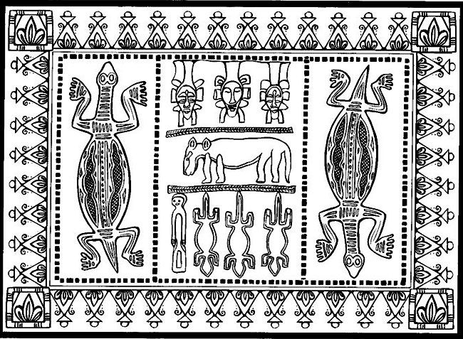 Marty Noble African Designs Coloring Book