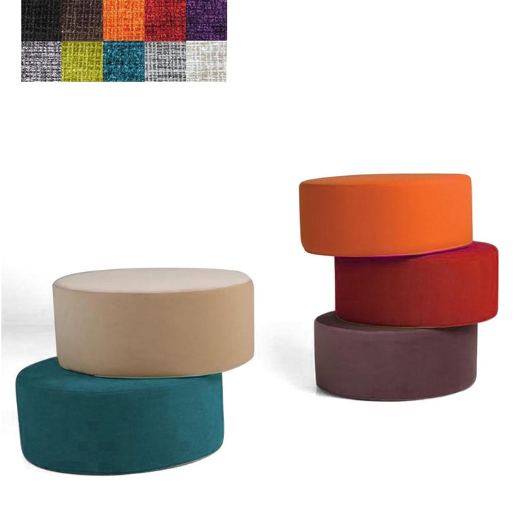 Sits Circle Pouffe, Various Colours Available: Circles, Shrinks, Product 89, Sits Circle, Circle Pouffe, Colours