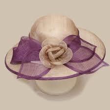 Sombrero malva