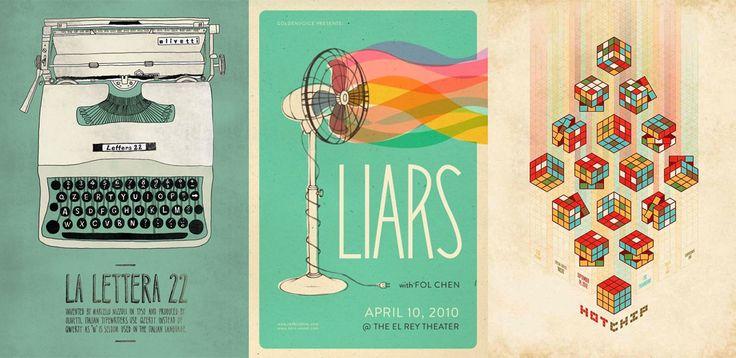 Poster Inspiration - April 2013