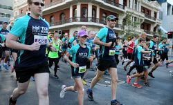 TWA-0045140 © WestPix Participants in this year's HBF Run For A Reason in Perth today, Sun'. PICTURE: NIC ELLIS   THE WEST AUSTRALIAN