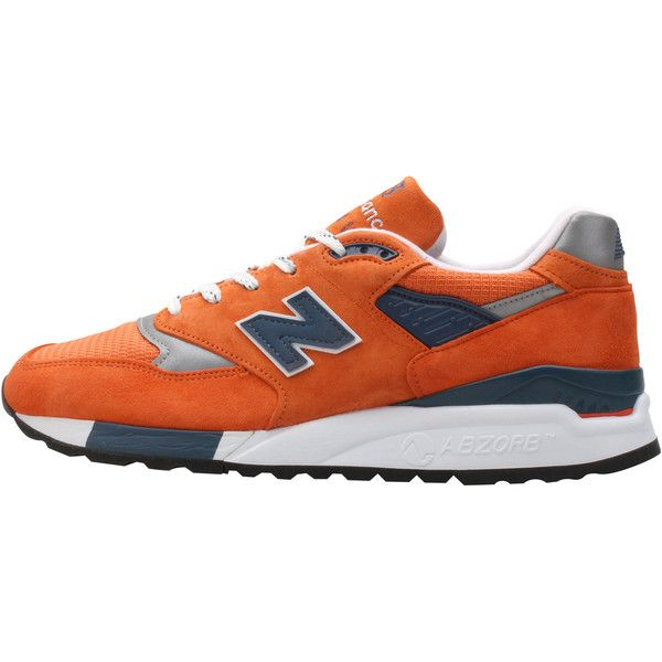 New Balance M998CTL Made in the USA - Orange/Navy/White