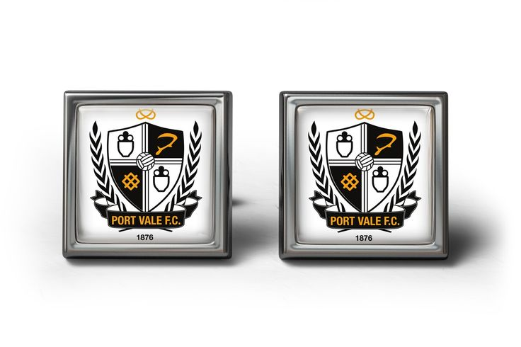 Port Vale FC Cufflinks | ourcufflinkshop.co.uk