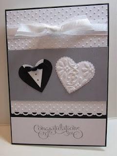 Addicted to Cardmaking great wedding card idea