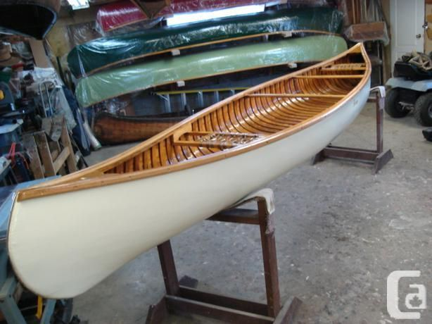 Be Plan Free Vintage Wood Canoe