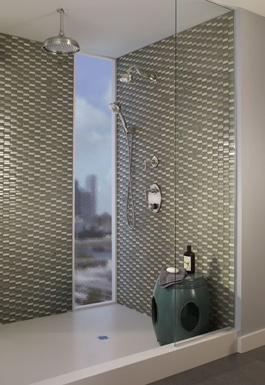 Brush Up On The Current Bathroom Tub And Shower Trends