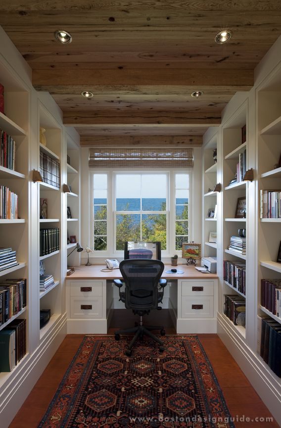 complete guide home office. my dream home office with ocean view love the wood ceiling built in bookshelves an desklove it all complete guide