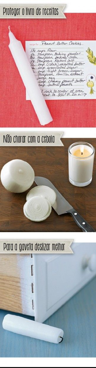 Três novos usos para a vela - Blog de decoração - Casa de Firulas