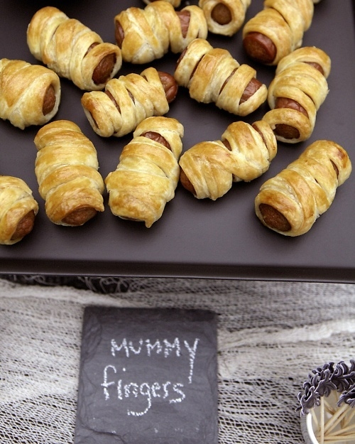 Mummy Dogs - Cooking activity for Egyptian theme day                                                                                                                                                                                 More
