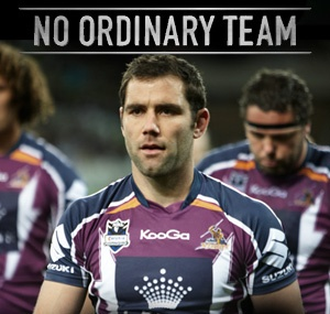 @Melbourne Storm launch No Ordinary Team ready to tackle the 2012 NRL season.