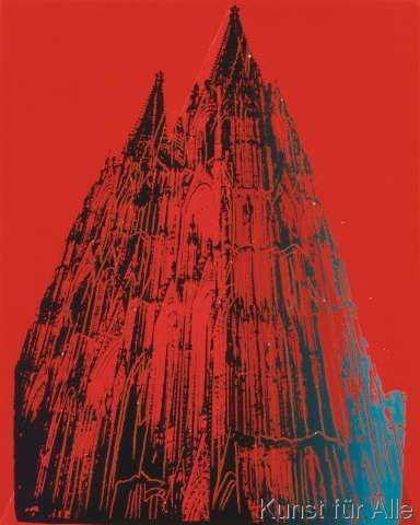 Andy Warhol - Cologne Cathedral, 1985