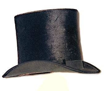 """When first top hat was worn by haberdasher John Hetherington in 1797, it caused a near riot. According to a newspaper account, """"passersby panicked at the sight. Several women fainted, children screamed, dogs yelped, and an errand boy's arm was broken when he was trampled by the mob."""" Hetherington was taken to court for wearing """"a tall structure having a shining luster calculated to frighten timid people."""""""