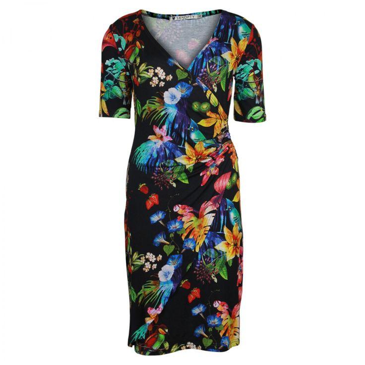 Tropische Jurk Eline | SRNDPTY | Dresses Only